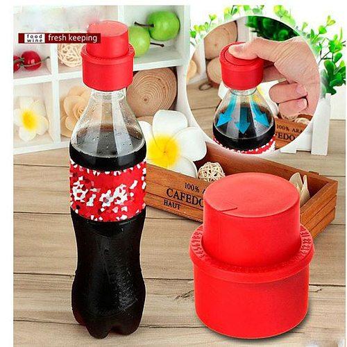 Vacuum Soda  Stopper POP Soda Cap Bottle Stopper Bar Accessories Bottle Tools Fresh keeping Cap