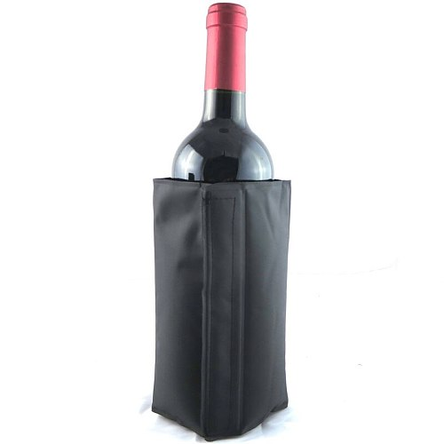 Wine Cooling Holder Ice Bag Jelly Picnic Beverage Cooler Bottle Sleeve Soft Drink Rack Bar Tools  For Beer Champagne Wine Bucket