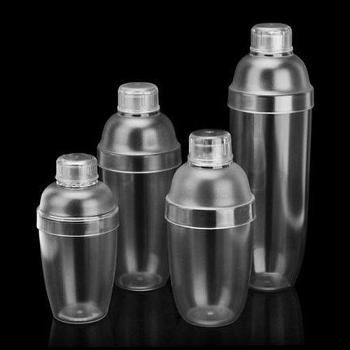 350ml/530ml/700ml/1000ml Plastic Martini Cocktail Shaker Wine Beverage Mixer Wine Shaker Drink Mixer Bar Tools