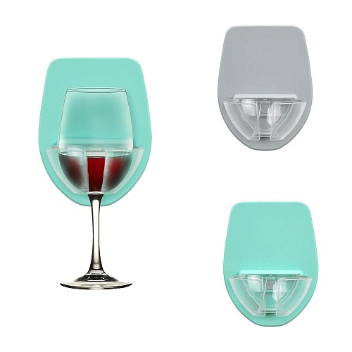 Watt Plastic Wine Glass Holder For The Bath Shower Red Wine Glass Holder Bar Bathroom Accessories Kitchen Gadget Set Accessorie