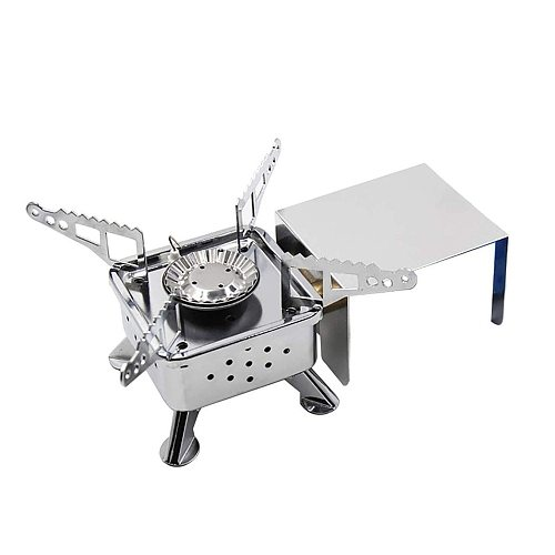 2020 New Outdoor Portable Mini Cassette Stove Windproof Camping Gas Stove Tea Cooking Stove With Fire Barrier Dropshipping 1210