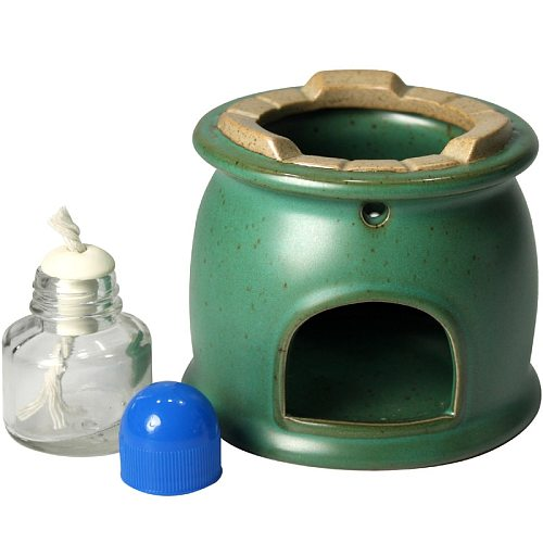 Thickening High Quality Rough Pottery Alcohol Furnace Non-slip Anti-scald Chinese Style Exquisite Alcohol Lamp