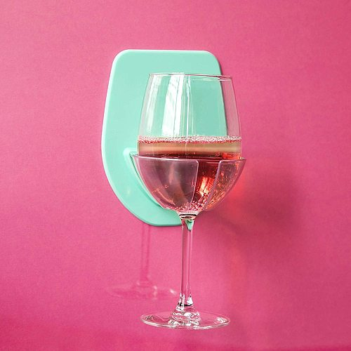 Plastic Wine Glass Holder For The Bath Shower Red Wine Glass silky strong Wine glass storage rack Kitchen Rack Hanging CD