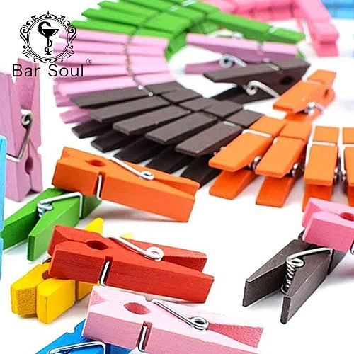 Bar Soul Cocktail Decoration Clips Lemon Peel Clips Creative Small Clip Professional Bartender Tools
