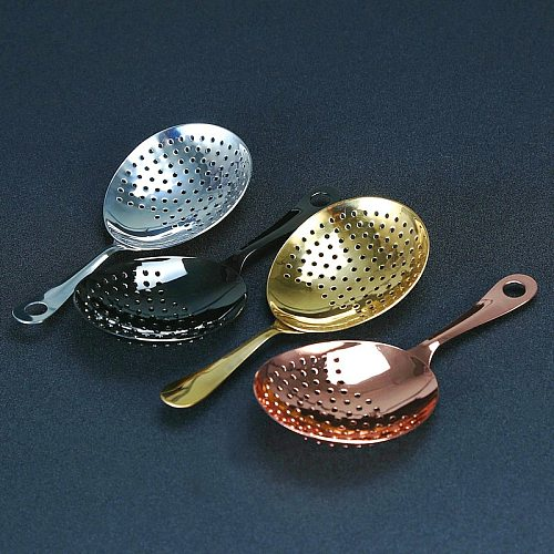 Stainless Steel Julep Strainer Cocktail Strainer Bar Tool