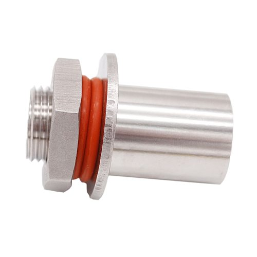 Stainless Steel Kettle/Keg Weldless Bulkhead, 1/2 BSP, Brewer Hardware, Homebrew Fitting
