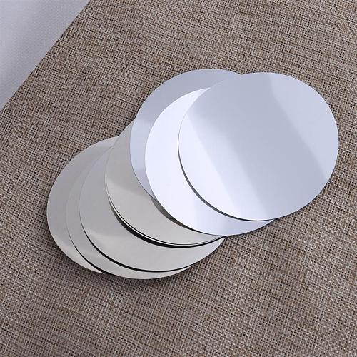 12pcs Aluminum Foil Wine Pourer Disc Flexible Drip Stop Pour Spouts Disk Pack Party Wedding (Silver)