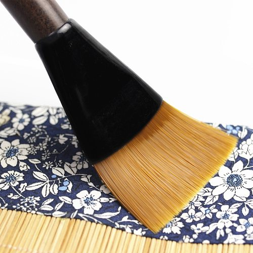 1 PC 18.5x5.5 cm Sandalwood Tea Pot Brush Ebony Crafts Kungfu Tea Set Sweep Cleaning Tool Clay Pot Tea Tray Cleaner Pen 2 Styles