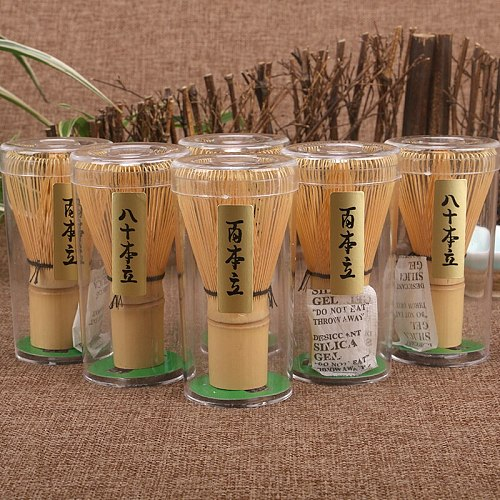 Japanese Ceremony Bamboo Matcha Practical Powder Whisk 80 100 Coffee Green Tea Brush Chasen Tool Grinder Brushes Tea Tools