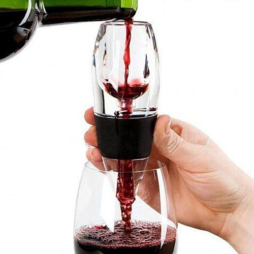 NEW Red Wine Aerator Mini Filter Magic Decanter Essential Wine Quick Aerator Wine Hopper Filter bar Essential Equipment Set