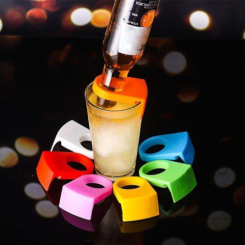 25Pcs Mini Drinks Bottle Buckle Holders On Glass Cup Beer Cocktail Bottle Holder Drinking Bar Clip Portable Wine Bottles Rack