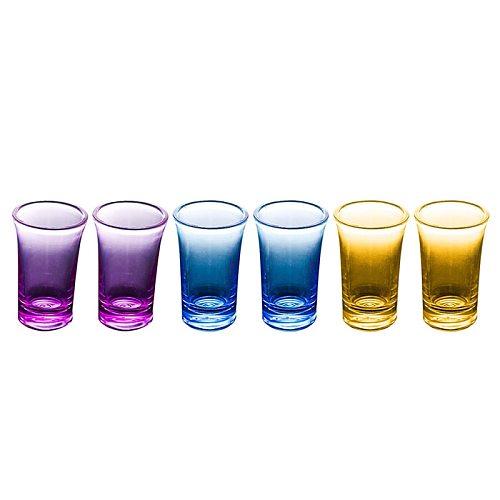 6 Shot Plastic Dispenser Holder Wine Glass Whisky Beer Dispenser Rack Bar Cup Caddy Liquor Dispenser Party Games Drinking Tools