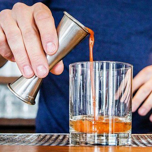 Cocktail Bar Jigger Stainless Steel Measuring Cup Jigger Double Spirit Bartender Bar Wine Jigger Liquo Measuring Tool Kitchen