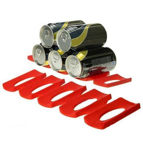 Kitchen Storage Tool Fridge Can Beer Wine Bottle Rack Organizer Holder Mat
