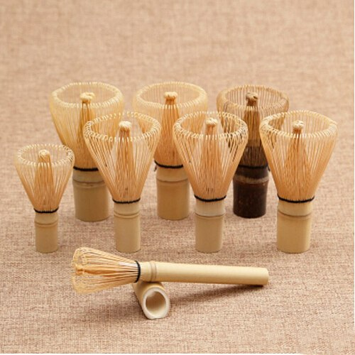 New Japanese Ceremony Bamboo 54  Matcha Powder Whisk Green Tea Chasen Brush Tool  Free shipping
