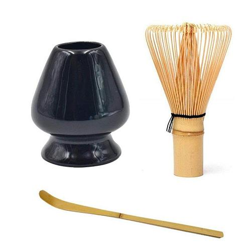 Japanese Bamboo Matcha Whisk Brush Professional Green Tea Powder Whisk Chasen Tea Ceremony Bamboo Brush Tool Grinder