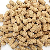 50 Pcs Blank Wine Corks Straight Corks Wine Stoppers Reusable Functional Portable Sealing Wine Bottle Stopper for Bottle