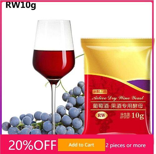 RW Red Wine Yeast 10G Active Dry fermentation distillation distiller home Koji fermentation for grapes