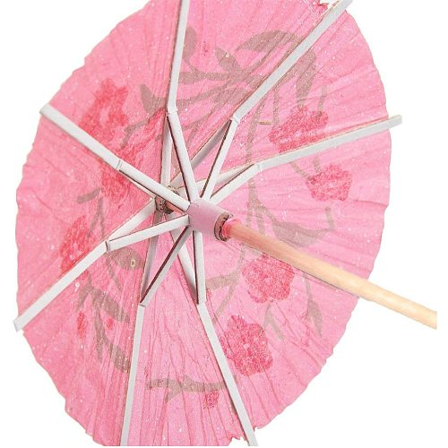 50PCS Drink Parasols For Cocktail Tropical Drinks Fruit Wine Retro Mini Mixed Bright Color Umbrell Bar drinking accessories