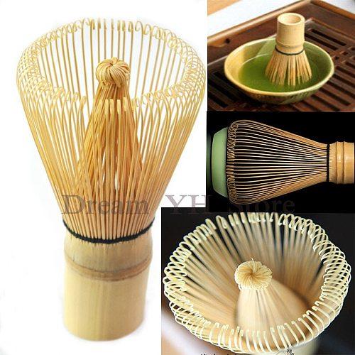 New Japanese Ceremony Bamboo 54  Matcha Powder Whisk Green Tea Chasen Brush Tool  Free shipping