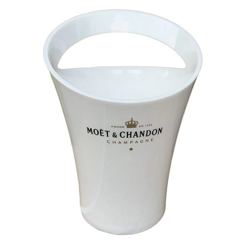 Euro Fashion Wine Ice Bucket 3L Acrylic White Ice Buckets Plastic Party Wine Bottle Cooler