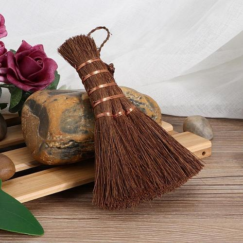 Natural  Household Cleaning Broom Cleaning Brush Coconut Palm Silk Cup Brush Tea Set Brush Glass Cup Tea TableCleaning Brush