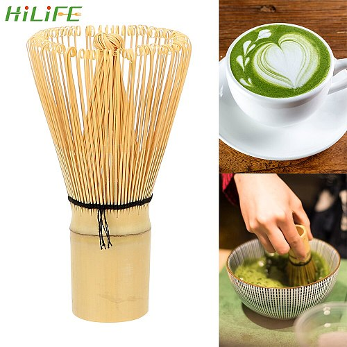 HILIFE Tea Brush Tea Tool 100 Matcha Green Tea Powder Whisk Kitchen Accessories Japanese Ceremony Bamboo Chasen