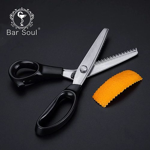 Bar Soul Scissors Lemon Peel Scissors DIY Laciness Various Creative Peel Trimming Cocktail Decoration Bartender Tools