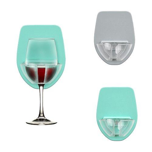 Watt Plastic Wine Glass Holder For The Bath Shower Red Wine Glass Holder Bar Bathroom Accessories Kitchen Gadget Set