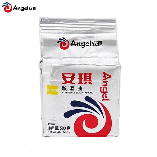 Angel Yeast Wine 500g/pack Alcohol Yeast Active Dry Yeast Fermentation White Wine Brewing With Saccharomyces Cerevisiae Wine