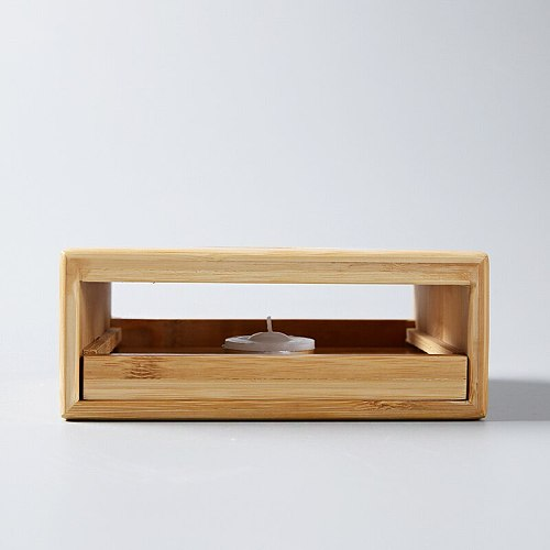 LUWU natural bamboo tea fire stoves Bamboo tea warmer accessories