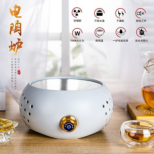 Intelligence Radiant-cooker Mute Tea Cooks Iron Pot Ceramics Cook Infusion Of Tea Furnace Glass Boil Water Kettle Household