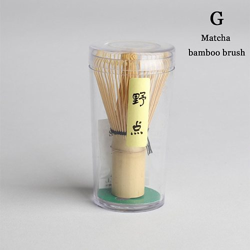 Bamboo Tea Whisk Matcha Point Green Tea Powder Appliance Matching Tool FBS889