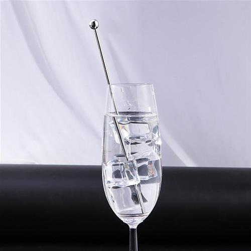 5Pcs 19cm Stainless Steel Creative Mixing Cocktail Stirrers Sticks for Wedding Party Bar Swizzle Drink Mixer Bar Muddler