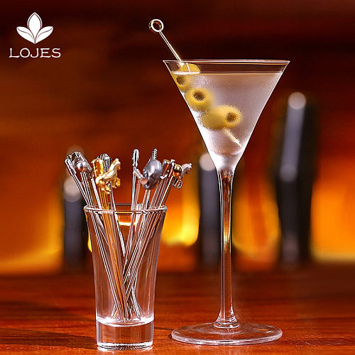3Pcs 304 Stainless Steel Gold Plated Titanium Fork Party Buffet Decor Fruit Desserts Food Cocktail Sandwich Fork Stick Pick