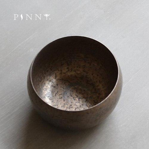 PINNY 450ML Retro Rust Glaze Tea Wash Bowls Pigmented Tea Service Kung Fu Tea Ceremony Accessories Hand Made Chinese Tea Set