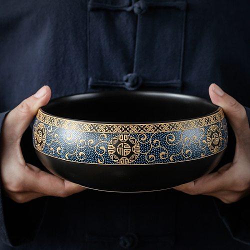 Extra Large Tea Wash Pen Wash Water Bowl Wash Tea Bowl Ceramic Tea Set Accessories Tea Ceremony Household Hydroponic Flowerpot
