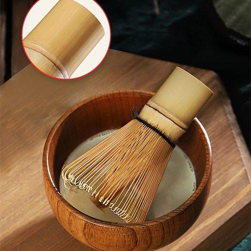 Japanese Style Matcha Brush Set Bamboo Material Matcha Powder Whisk Holder Green Tea Chasen Brush Tools Tea Sets Accessories