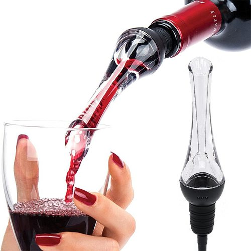 TTLIFE Red wine aerator Pourer Decanter Quick Aerating Pouring Tools Pump Portable Filter аэратор для вина графин