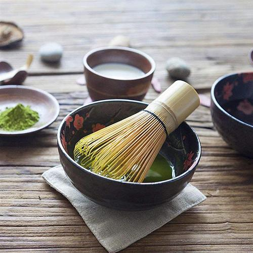 3PCS Japanese Tea Set Includes Matcha Bamboo Whisk Traditional Scoop & Tea Spoon
