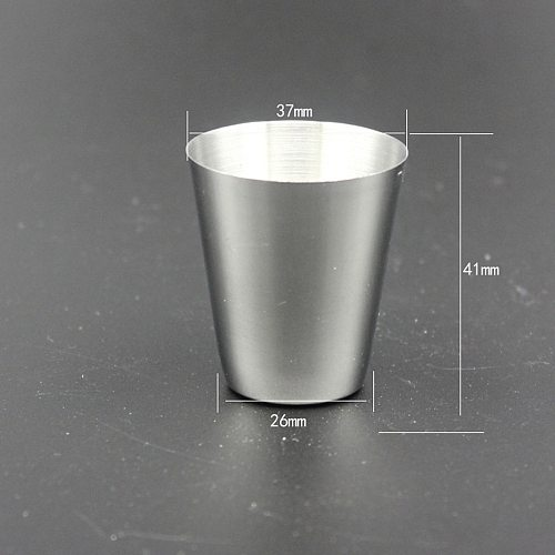 4pcs Mini Portable Wine Cup Bar Accessories Glass Travel Home Barware Stainless Steel Alcohol Silver Bottle with a Cup Cover