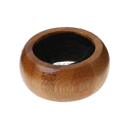 New Wooden Red Wine Bottle Drip Drop Proof Stop Collar Ring Home Bar Accessories