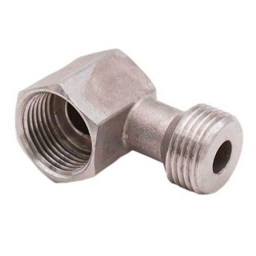 Low Profile Elbow Bend for Keg Couplers Stainless Steel 304