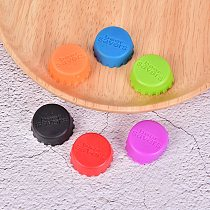 6 Pcs/set Kitchen Tool Silicone Cap Of Beer Bottle Caps Coke Bottle Cap Of All Kinds Of Drinks The Cover Cap Barware
