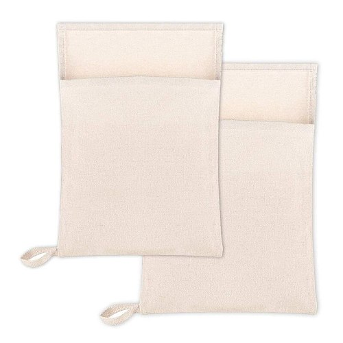 Lewis Ice Bag,Bartender Kit Ice Crusher,Canvas Bag Set for Ice Crushing, Bar Tools Accessory for Home Bartenders 2Pcs