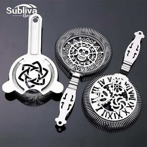 Hawthorn Strainer Cocktail Strainer Stainless Steel Bar Strainer Professional Cocktail Bar Tools