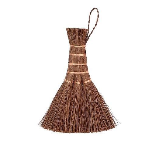 Natural Handmade Matcha Bamboo Broom Matcha Tea Countertop Tea Brush Mini Cleaning Broom Tea Brush Kitchen Teaware