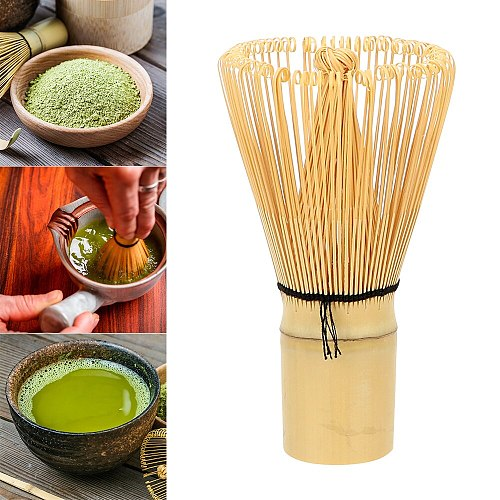 HILIFE Tea Brush Japanese Ceremony Bamboo Chasen Kitchen Accessories Tea Tool 100 Matcha Green Tea Powder Whisk