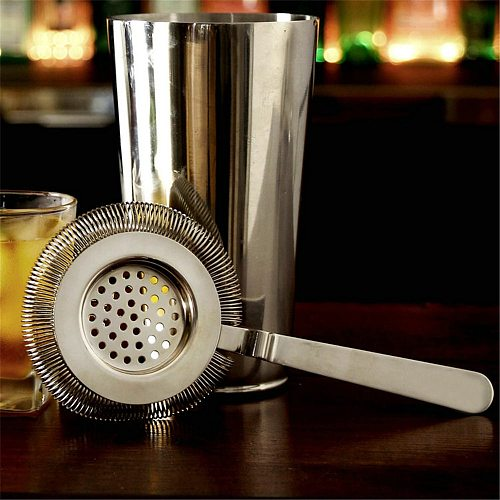 Bar Strainer Sprung Cocktail Strainer Stainless Steel Deluxe Strainer Bar Tools