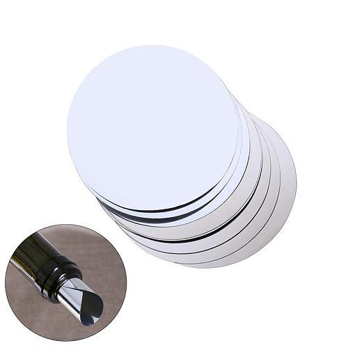 Aluminum Foil Wine Pourer Disc Flexible Drip Stop Pour Spouts Disk  Flexible Drip Stop Pour Spouts Disk Drop Stop Pouring Disks